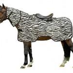 HKM vliegenuitrijdeken zebra