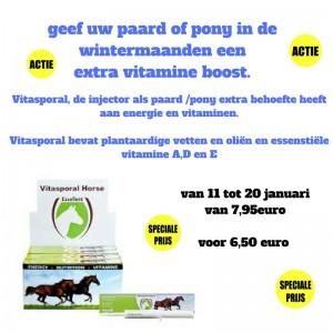 Copy of de R is in demaand, geef uw paard of pony een extra vitamine boost.